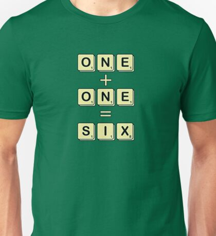 Scrabble Math Unisex T-Shirt