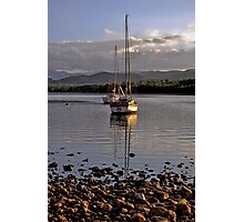 Boats on Ullswater Photographic Print