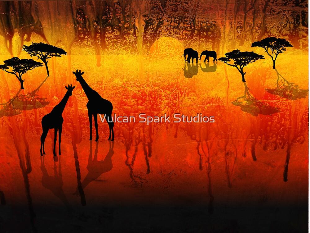 Africa Melting by Vulcan Spark Studios