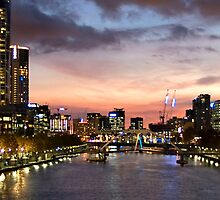 Yarra River Melbourne by Kara Weeks