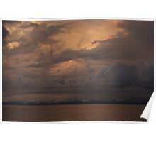 Sunset over Far North Queensland Poster