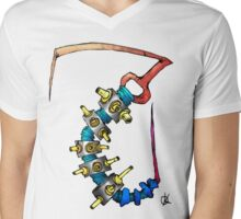 Antics03 Mens V-Neck T-Shirt
