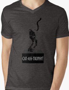 Cat Ass Trophy! Mens V-Neck T-Shirt