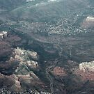 Views From Above: Sedona Arizona by Karen K Smith