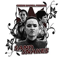 Sand Snakes presented by Oberyn Martell Photographic Print
