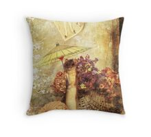 Fan Tan Alley Throw Pillow