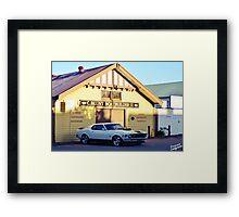 Mustang 1 Framed Print