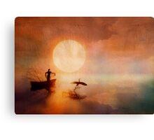 In Quiet Light Canvas Print