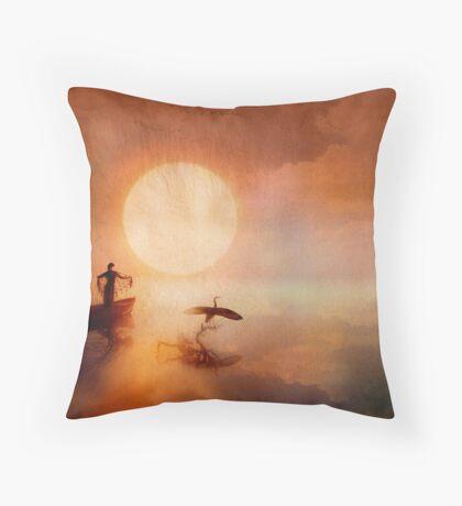 In Quiet Light Throw Pillow