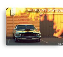 Mustang 2 Canvas Print