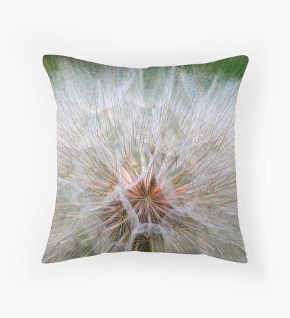 Dandelion Time Throw Pillow