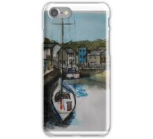 Padstow Harbour Cornwall iPhone Case/Skin