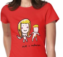 Eve and Adam Womens Fitted T-Shirt