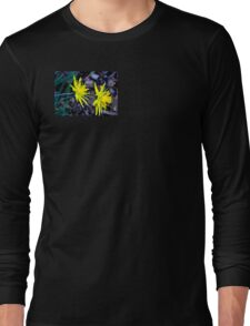 Spiky Daffodils.  Long Sleeve T-Shirt