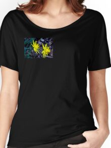 Spiky Daffodils.  Women's Relaxed Fit T-Shirt
