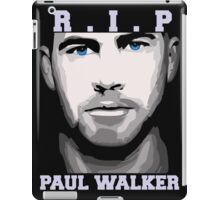 R.I.P Paul Walker iPad Case/Skin