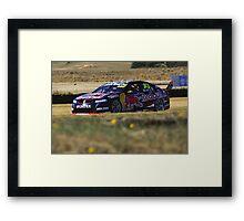 Craig Lowndes - Symmons Plains Framed Print