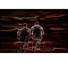 Happily Ever After - Supernatural's Sam & Dean! Photographic Print