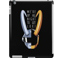 Up All Night to Get Loki iPad Case/Skin
