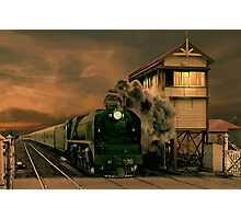 Sunset Express Photographic Print