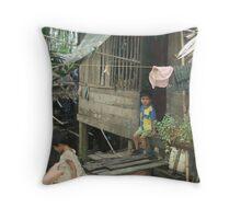 Burmese Boy Throw Pillow