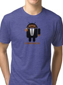 Pulp Fiction BugDroid Tri-blend T-Shirt