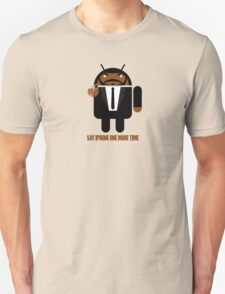 Pulp Fiction BugDroid Unisex T-Shirt