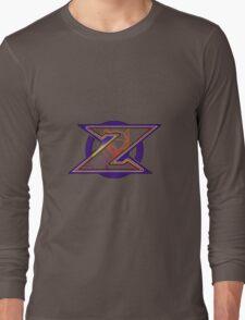 Hidden Zero from Megaman X (alternate placing for shirts) Long Sleeve T-Shirt