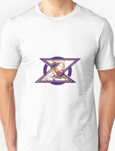 Hidden Zero from Megaman X (alternate placing for shirts) Unisex T-Shirt