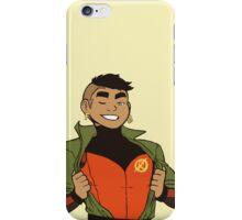 Damian Wayne - Not Robin Anymore (Transparent) iPhone Case/Skin