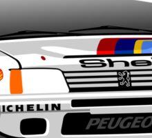 Peugeot 205 T16 Group B Sticker