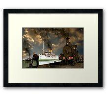 Dockside Views Framed Print