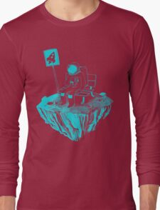 Waiting for my rocket bus Long Sleeve T-Shirt