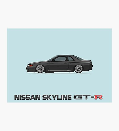 R32 GTR Wall Poster Side Photographic Print