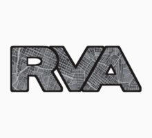 RVA Map Logo, Richmond, Virginia by Elizadearg