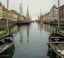 Nyhavn ..with Magda by © Kira Bodensted
