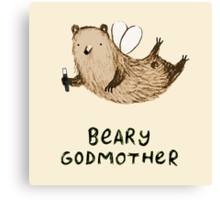 Beary Godmother Canvas Print