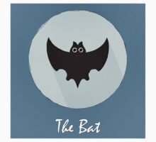 The Bat Cute Portrait Kids Clothes