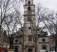St Clement Danes by Peter Reid