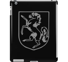 A Complete Guide to Heraldry - Figure 360 — Horse rampant iPad Case/Skin