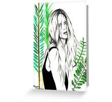 Wild Girl Greeting Card