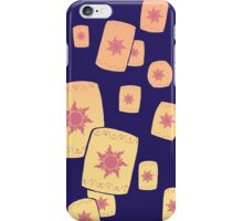 Floating Lanterns Gleam iPhone Case/Skin