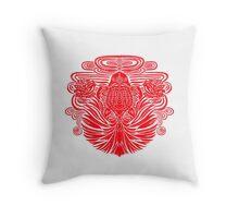 Red Goldfish Throw Pillow