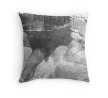 points of reference Throw Pillow