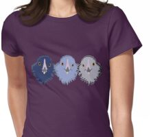 Ameraucana Chickens Womens Fitted T-Shirt