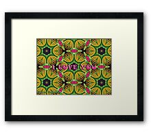 I Understand Only Simple Words Like.. I love you Framed Print