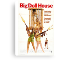 Big Doll House Alt (Green) Canvas Print