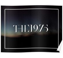 the 1975 logo with landscape Poster