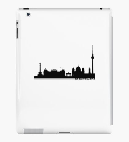 Berlin Cityscape 2 iPad Case/Skin