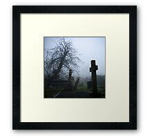 Bleak Cross Framed Print